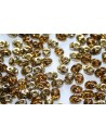 Perline Superduo Amber-Topaz 5x2,5mm - 10gr