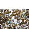 Perline Superduo Vitrail Topaz 5x2,5mm - 10gr