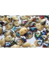 Superduo Beads Vitral-Ivory 5x2,5mm - 10gr
