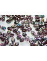 Superduo Beads Vitrail Amethyst 5x2,5mm - 10gr