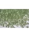 Perline Superduo Luster-Transparent Lt. Green 5x2,5mm - 10g