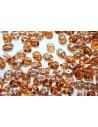 Perline Superduo Topaz-Celsian 5x2,5mm - 10gr
