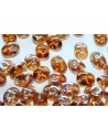 Superduo Beads Topaz-Celsian 5x2,5mm - 10gr