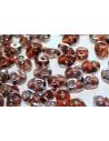 Perline Superduo Amethyst Celsian 5x2,5mm - 10gr