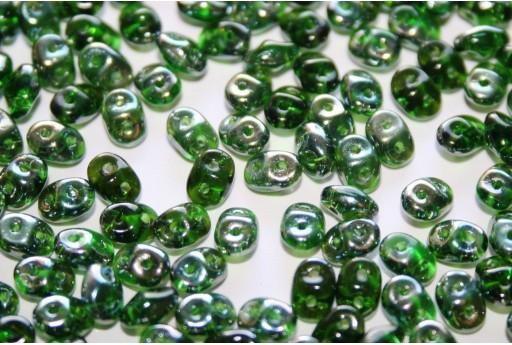 Perline Superduo Chrysolite Celsian 5x2,5mm - 10gr