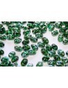 Superduo Beads Emerald Celsian 5x2,5mm - 10gr