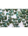 Superduo Beads Aquamarine-Celsian 5x2,5mm - 10gr