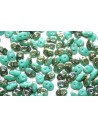 Perline Superduo Jade Celsian 5x2,5mm -10gr