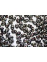 Superduo Beads Jet Picasso 5x2,5mm - 10gr