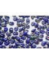 Perline Superduo Opaque Blue-Picasso 5x2,5mm - 10gr