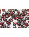 Superduo Beads Hyacinth-Picasso 5x2,5mm - 10gr
