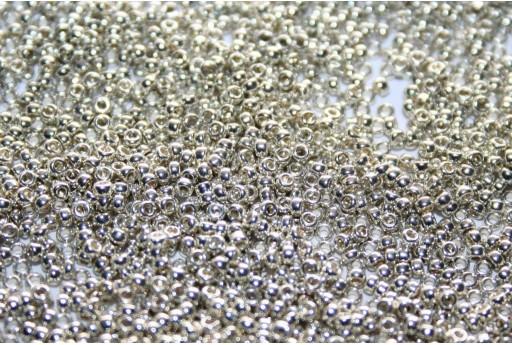 Rocailles Miyuki Galvanized Silver 15/0 - 100gr