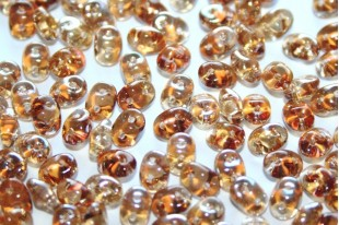 Superduo Crystal Celsian 5x2,5mm - Pack 50gr