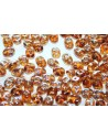 Superduo Topaz Celsian 5x2,5mm - 100gr