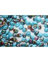 Superduo Vitrail Blue Turquoise 5x2,5mm - Pack 50gr