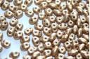 Superduo Beads Matte Metallic Flax 5x2,5mm - 10gr