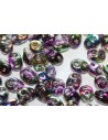 Superduo Beads Magic Line Orchid 5x2,5mm - 10gr