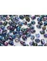 Perline Superduo Magic Blue Line 5x2,5mm - 10gr