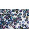 Superduo Beads Magic Blue Line 5x2,5mm - 10gr