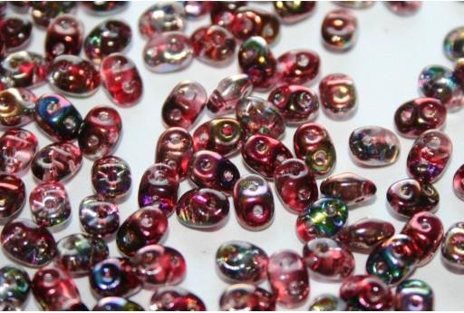 Superduo Beads Magic Line Wine 5x2,5mm - 10gr