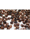 Superduo Beads Luster Bronze 1/2 Smoke Topaz 5x2,5mm - 10gr