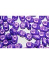 Superduo Beads Gold Shine Purple 5x2,5mm - 10gr