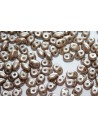 Superduo Beads Pastel Light Brown/Coco 5x2,5mm - 10gr
