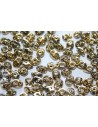 Superduo Beads Crystal-Topaz 5x2,5mm - 10gr