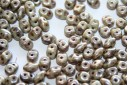 Superduo Beads Matte-Luster Marble Lt Green 5x2,5mm - 10gr