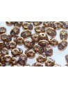 Perline Superduo Bronze-Crystal 5x2,5mm - 10gr - B00030