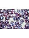 Perline Superduo Transparent Amethyst 5x2,5mm - 10gr