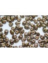 Superduo Beads Olivine-Bronze Picasso 5x2,5mm - 10gr