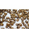Superduo Beads Opaque Yellow-Bronze Picasso 5x2,5mm - 10gr