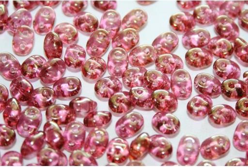 Perline Superduo Luster-Pink 5x2,5mm - 10gr
