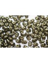 Superduo Beads Luster-Metallic Olivine 5x2,5mm - 10gr