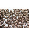 Superduo Beads Dark Bronze 5x2,5mm - 10gr