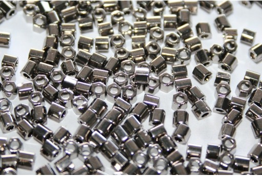 Hexagon Toho Seed Beads Nickel 8/0 - 5gr