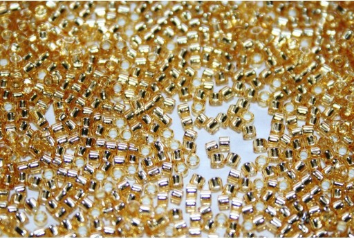 Perline Treasure Toho Silver Lined Light Topaz 11/0 - 5gr