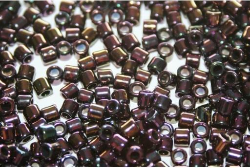Perline Treasure Toho Metallic Iris Purple 8/0 - 5gr