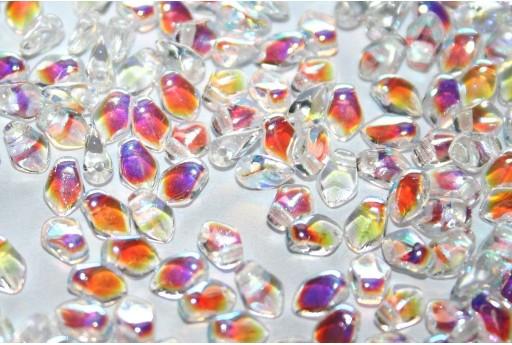 Perline Gekko® Crystal AB 3x5mm - 5gr