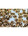 Perline Superduo Coated 24K Gold 5x2,5mm - 5gr