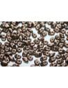Perline Superduo Matte Dark Bronze 5x2,5mm - 10gr