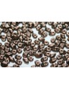 Superduo Beads Matte Dark Bronze 5x2,5mm - 10gr