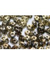 Superduo Beads Jet California Night 5x2,5mm - 10gr