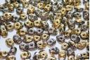 Perline Superduo California Graphite 5x2,5mm - 10gr