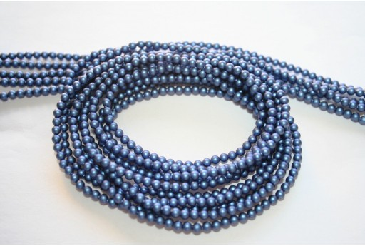 Swarovski Pearls 5810 Iridescent Dark Blue 3mm - 20pcs