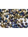 Superduo California Blue 5x2,5mm - 50gr