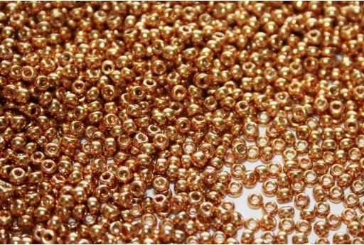 Miyuki Rocailles Galvanized Medium Gold 11/0 - 250gr
