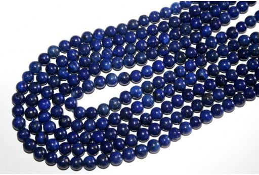 Filo 64 Pietre Lapis Lazuli Sfera 6mm LA1