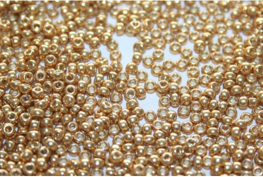 Miyuki Rocailles Duracoat Galvanized Gold 11/0 - 10gr